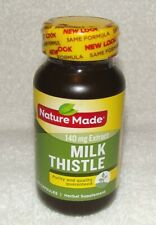 Nature Made Milk Thistle 140 mg Capsules 50 Ct Exp. 08/2022