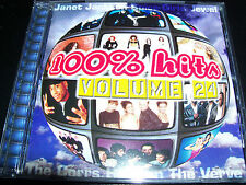 100% Hits Volume 24 CD Feat Janet Jackson The Spice Girls Corrs Robyn Loau & Mor