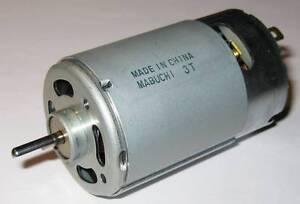 Mabuchi 12V DC Generator - 12 VDC - 40 Watts Peak Power - 25 Watts Rated