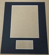 12 - Custom Cut 11X14 Mats For 8X10 Photo & 3X5 Index Card (You Pick The Colors)