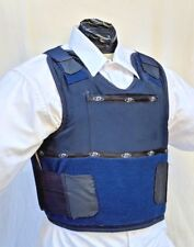 Large IIIA Concealable Body Armor Carrier BulletProof Vest w Inserts