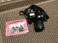 Canon EOS 100 35mm Film SLR with Canon 35-80mm EF III Lens