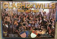 Clash Of Wills Shiloh 1862 Board Game by Mayfair Games- makers of Catan series