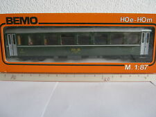 Bemo HOm 3055 Personenwagen 2 Kl BtrNr 2460 RHB grün (RG/BT/141-28R2/11)