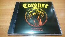 Coroner - Punishment For Decadence(1988)CD