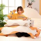 Pillow Plush toy Cute Soft Long Cat  Bed. home decor.gift b,day.girl.boy.50cm 1