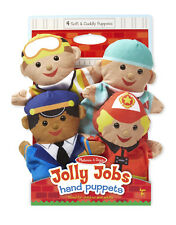 JOLLY JOBS HELPERS HAND PUPPETS  #9086 ~ Free Ship/USA ~  Melissa & and Doug