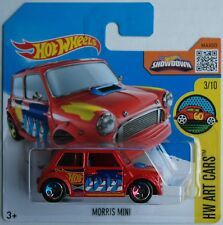 Hot Wheels-Morris Mini Rouge Nouveau/Neuf dans sa boîte
