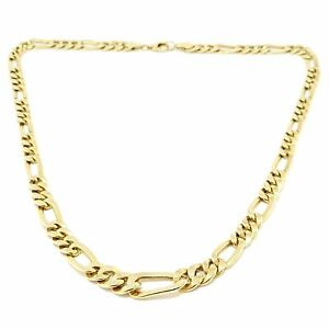 Collier maille intercalé chute or jaune 18 carats