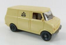 Bedford Blitz Transporter mit Waage-Logo beige Wiking 1:87 H0 ohne OVP [SU4-A6]