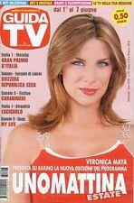 rivista GUIDA TV ANNO 2008 NUMERO 23 VERONICA MAYA