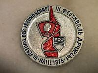 FDJ III. Festival der Freundschaft, Halle 1975, Abzeichen Orden Ehrenzeichen DDR