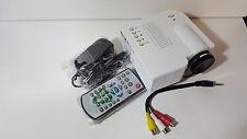 VIDEOPROIETTORE MINI LED HD HDMI PROIETTORE PORTATILE USB SD AV VGA