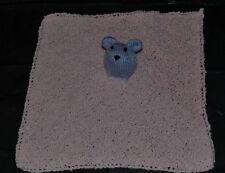 Hand Knitted BabySnuggle Animal Blanket
