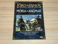 Lord of the Rings Strategy Battle Game Moria & Angmar Source Book Sourcebook