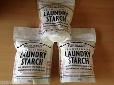 1.5KG Kershaw's Traditional Laundry Starch Powder 3 x 500g Resealable Pack  3Pks