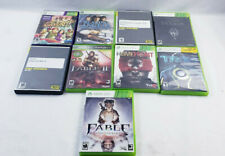 Xbox 360 Lot Of 9 used Games