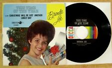BRENDA LEE 45+PIC SLEEVE CHRISTMAS WILL BE JUST ANOTHER DAY/THIS TIME OF YEAR
