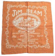 Bandana Foulard Neuf Jim Beam Bourbon Whiskey - Moto USA
