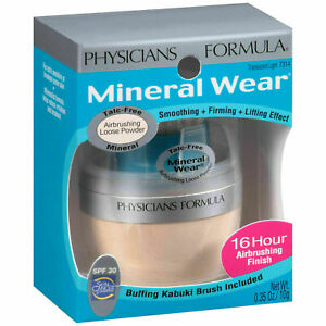 Physicians Formula Mineral Wear Airbrushing Loose Powder 7314 Translucent Light