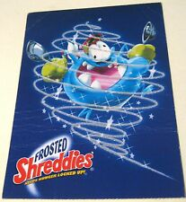 Advertising Retail Food Frosted Shreddies - posted