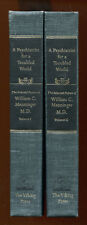A PSYCHIATRIST FOR A TROUBLED WORLD...WILLIAM C. MENNINGER - 2 Vol Set, 1967 1st