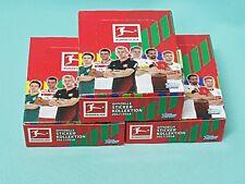 Topps Bundesliga Sticker 2017/2018  3 x Display / 90 Tüten