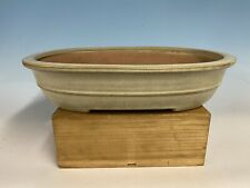 Beautiful Cream Glazed Tokoname Bonsai Tree Pot By Yamafusa 16�