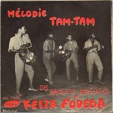 "RARE KEITA FODEBA ""MELODIE TAM-TAM"" CHANTS AFRICAINS 50'S EP VOGUE 7255"