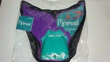 FINIS Mermaid Tail Monofin Purple Swimming Fin Youth Kids plus Pool Bag