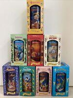 Vintage 1994 Walt Disney Collector Series Cups Glasses Burger King Lot Of 8