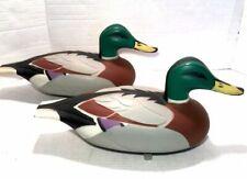 New Listing1 Vintage D-9 Victor Woodstream Co., Mallard Plastic Hunting Decoy Duck 1967