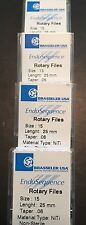 1 Pack Of Brasseler Endosequence Rotary Files 15 Taper 06 25mm