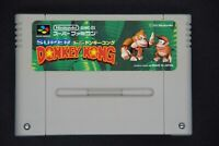Super Donkey Kong Country Nintendo Super Famicom Cartridge Only Japan Game