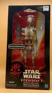 "1999 Star Wars Battle Droid Phantom Menace Episode I 12"" Hasbro Action Figure"