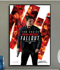 291C2 Mission Impossible Fallout Movie Print Art Silk Cloth Poster Deco