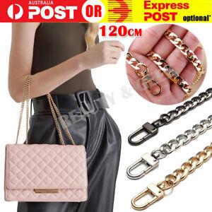 120cm Metal Handbag Shoulder Strap Bag Purse Chain Smooth Replacement Crossbody