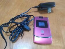 Motorola RAZR V3 - Burgundy (Unlocked) Cellular Phone