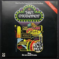 THAT'S ENTERTAINMENT 2LP Film Soundtrack OST Narrated By Fred Astaire Gene Kelly