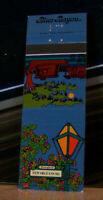 Vintage Matchbook Cover A2 Walt Disney Disneyland Blue Bayou New Orleans Square