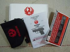 Ruger Lcp Factory Cardboard Box With Manual + Rug - 63402.