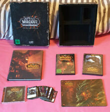 World of Warcraft Cataclysm Collectors Edition - Sammler - Komplett - WoW
