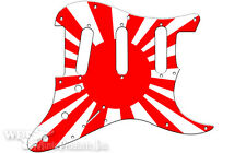 PICKGUARD FOR FENDER® STRATOCASTER® RIGHT HAND SSS JAPANESE FLAG