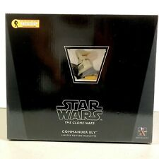 Gentle Giant AFX Exclusive Star Wars The Clone Wars Commander Bly Mini-Bust New