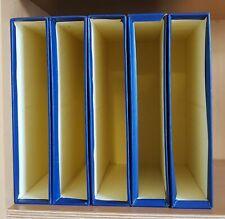 5x Poussée Cartouche de Protection Bleu 310x290x60mm