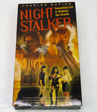 Night Stalker VHS 1987 Rare Detective Prostitute Action Movie Charles Napier
