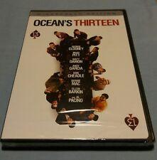 Oceans Thirteen (DVD, George Clooney, Al Pacino, Brad Pitt, Brand New, WS)