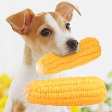 Pet Dog Puppy Latex Corn Squeaky Bite-resistant Interactive Play Chew Toy Sanwo
