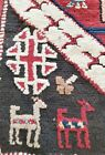 "Rare Pre-1900s Antique 3'9""×7' Wool Pile, Nagorno-Karabakh Armenian Folk-art Rug"