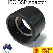 IBC Water Tank BSP Adaptor Tote Pod 50mm Plastic Heavy Duty 1000L Drum Shuttle